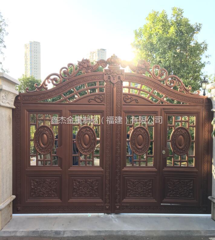 铸铝庭院门  6028-2