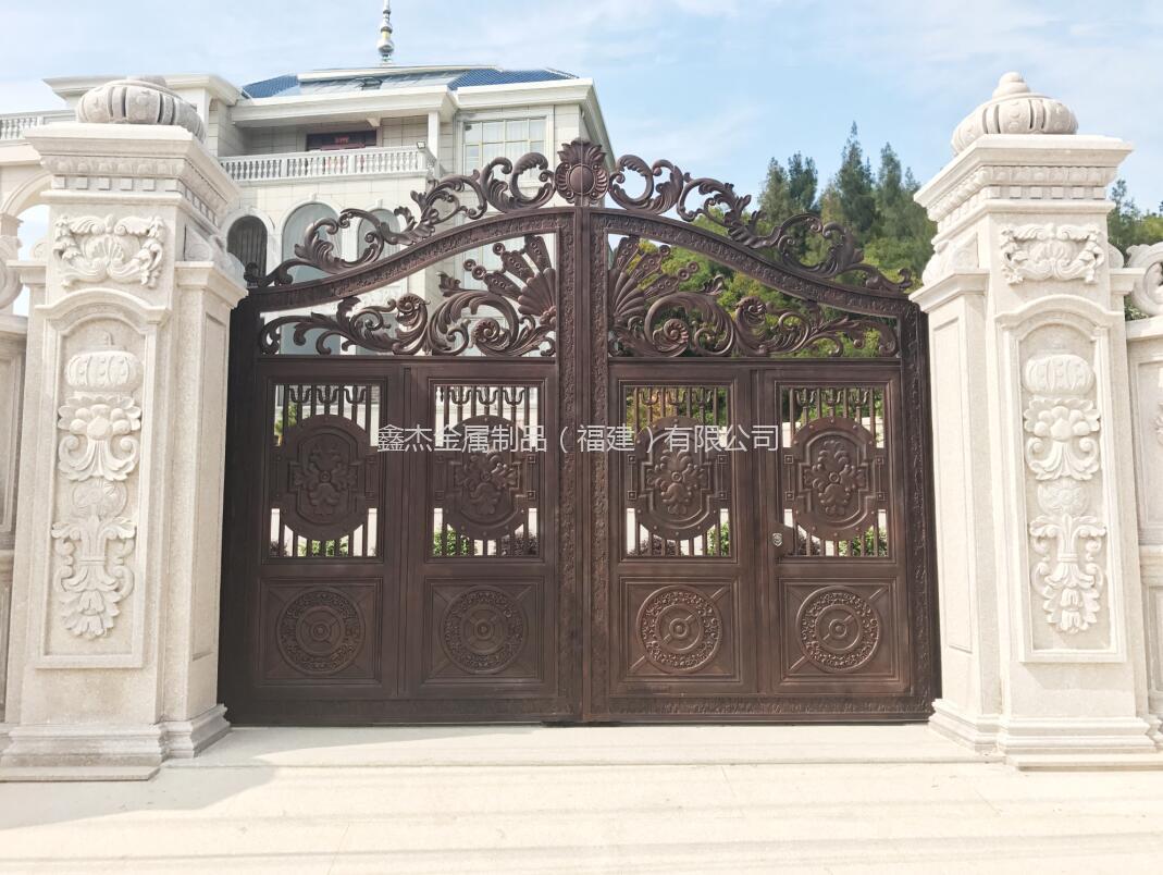 庭院铸铝门  6032