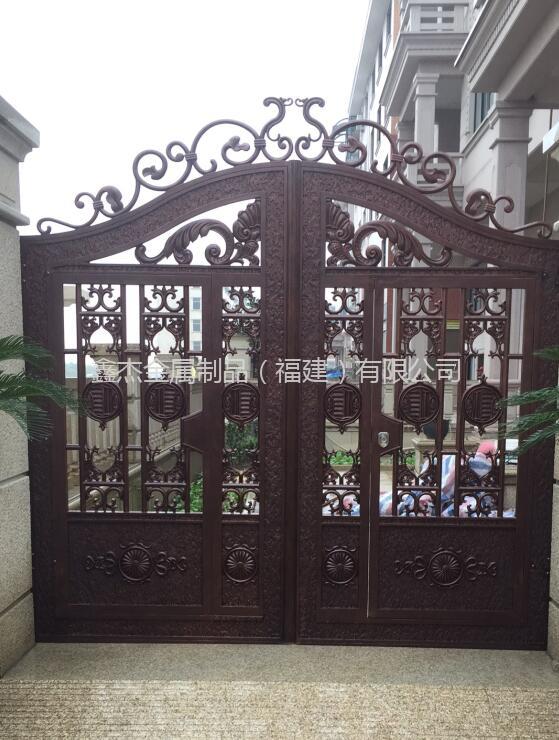 铸铝庭院门  6041