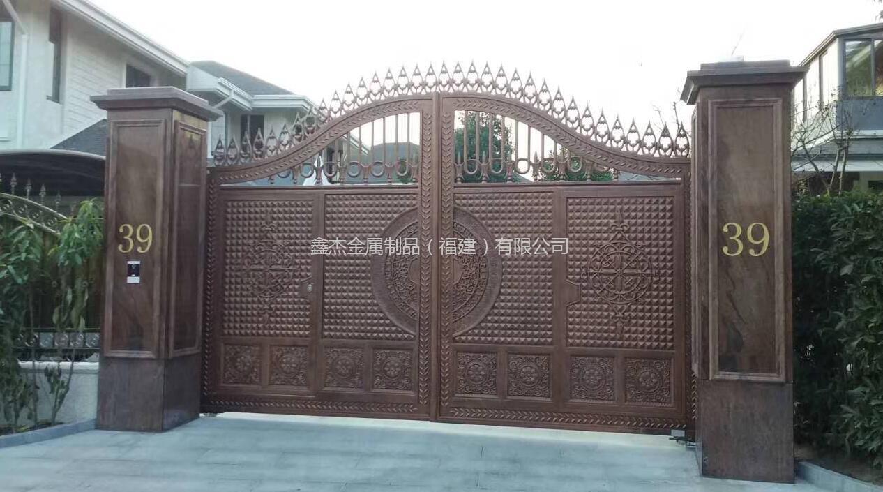 铸铝庭院门  6803-17